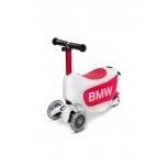 BMW laste tõukeratas Valge/Vaarika punane