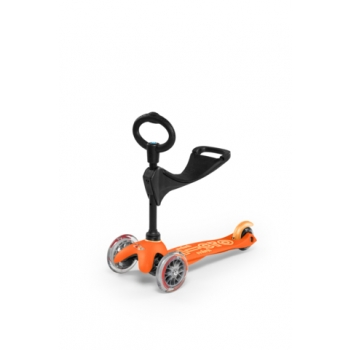 Tõukeratas Mini Micro 3in1 Deluxe oranz