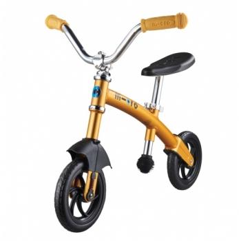 Micro G-Bike Chopper Deluxe jooksuratas, kollane