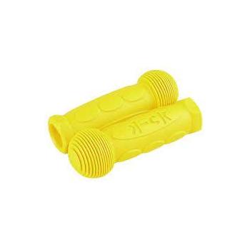 Micro käepide kummist, kollane (Mini Micro, Maxi Micro, G-Bike)