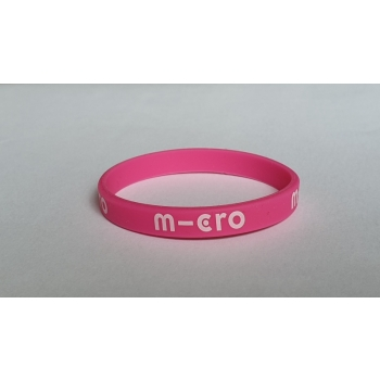 Micro käekumm silikoonist, roosa