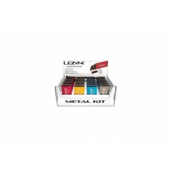 Lezyne Metal Kit Box rehviparanduskomplekt, erinevad värvid