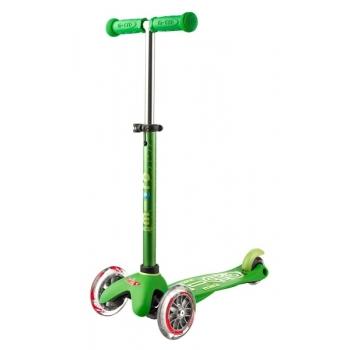 Micro Mini Deluxe tõukeratas, roheline