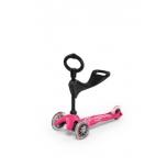 Tõukeratas Mini 3in1 Deluxe roosa