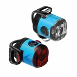 Lezyne LED Femto USB Drive eesituli + tagatuli, sinine