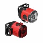 Lezyne LED Femto USB Drive esituli + tagatuli, punane
