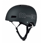 Micro kiiver ABS must, M (54-48cm), karbis / HK3