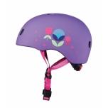 Kiiver PC Floral Purple S (48-53 cm)
