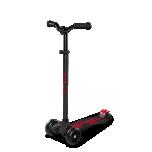 Micro Maxi Deluxe Pro tõukeratas, must/punane