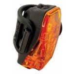 LED tagatuli LASER DRIVE (250lm), must